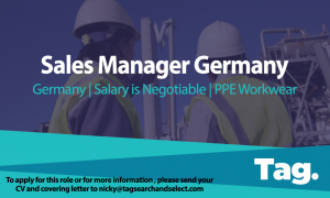 PPE Workwear Sales Manager, Germany
