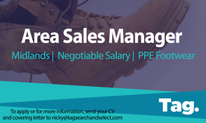 PPE Footwear Area Sales Manager, Midlands