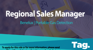 Portable Gas Detection Regional Sales Manager, Benelux