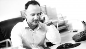 Nicky Taglione, Founder Of Tag Search & Select , On The Phone