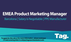 EMEA Product Marketing Manager, Barcelona