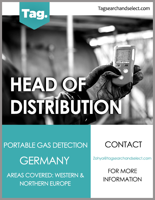 Head of Distribution, Western & Northern Europe - TAG Search